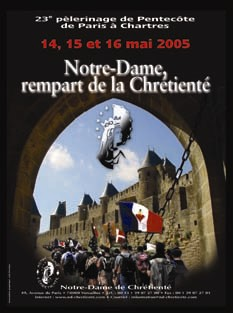 affiche du pèlerinage 2005