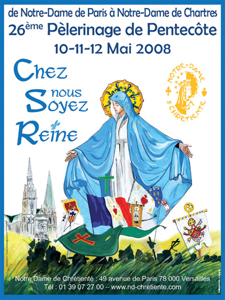 Affiche pèlerinage 2008